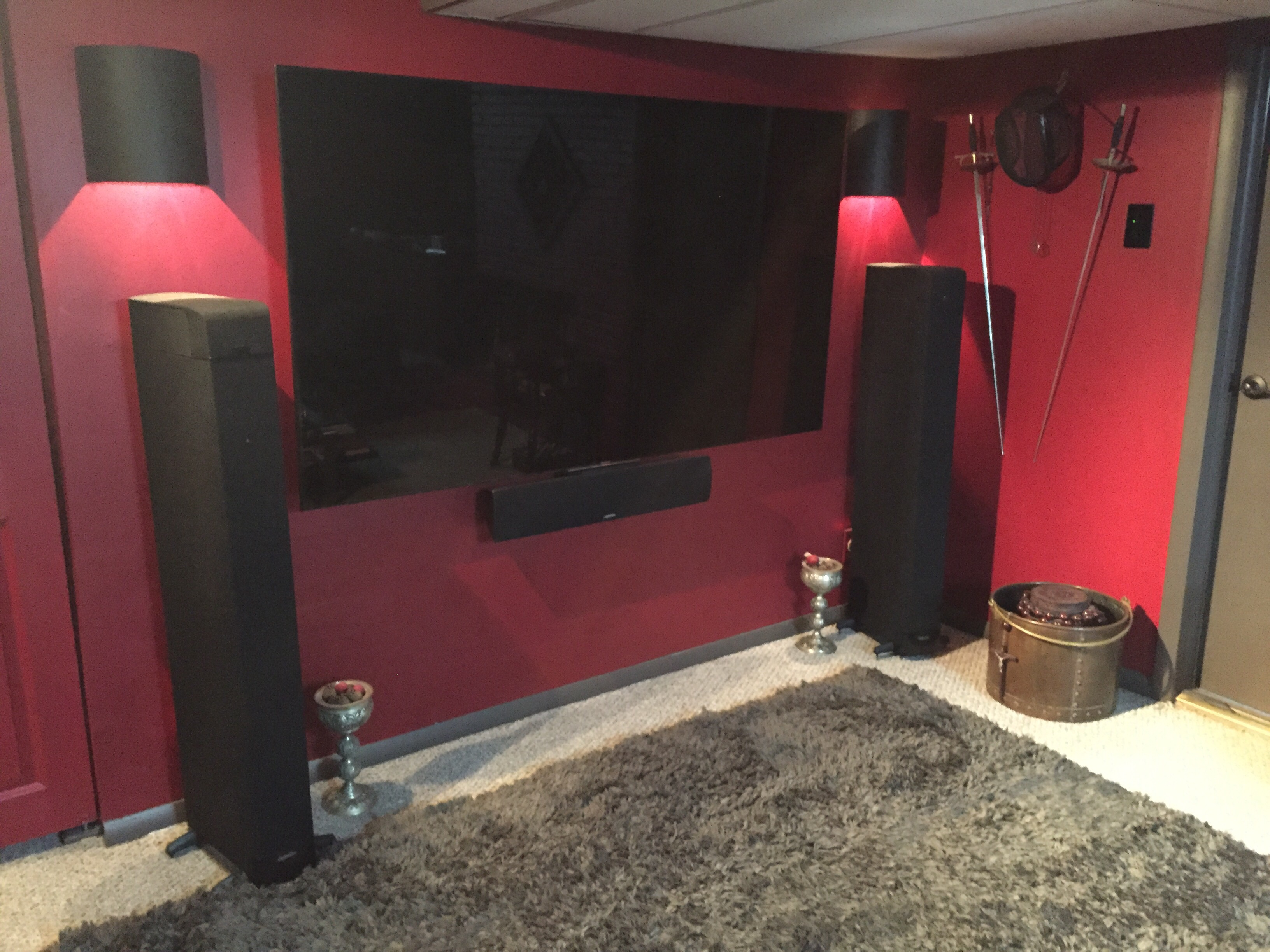 Castle Avi In Bloomfield Hills Michigan Retrofits Older Homes With House Wiring Art Home Theater Updates